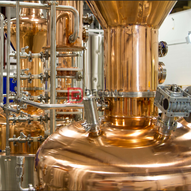 500L Professional Customized Copper Vodka Gin Distillery Machine Distilling / Distillation Equipment