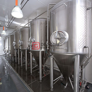 Customizable 2000L beer fermentation tank for craft beer cooling jacketed stainless steel brewing tank