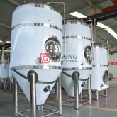 1000L Industrial turnkey steel craft beer brewing equipment for sale in Chile