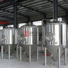 Polyurethane Insulation Double Jacket Stainless Steel 10HL Beer Fermenter for Sale California