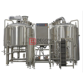 1500L Stainless Steel Beer Craft System 2/3/4 Vessel Brewhouse Equipment Listing