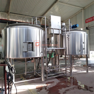 2000L Commercial Used Customized Design TIG Welding 3 Vessel Brewing System Beer Brewery Equipment for Sale