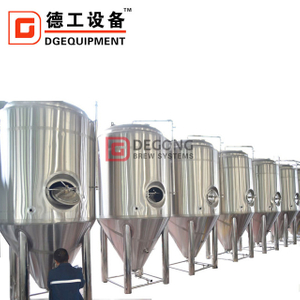 1000L Conical Beer Fermentation Tanks Craft Beer Equipment Brewery Equipment Stainless Steel Fermentation Tank