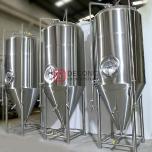 10BBL Jacketed Beer Fermenter Conical New Customizable Brewery Equipment for sale Colombia