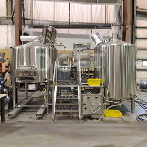 10BBL Custom Dimple jacket steam heated industrial used beer making machine/line for sale