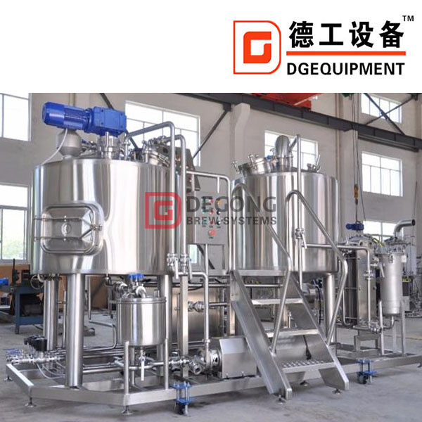 500L craft brewing system stainless steel industrial beer making machine/equipment for sale brewery plant
