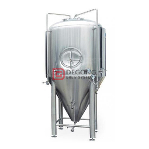 Stainless Steel Universial Craft Beer Cylinder-conical Tank fermentor 1000L with Top / Side Hatch
