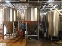 Greek 1500L Beer Brewing System brewery equipment