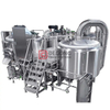 1500L 2,3,4 Vessel Customizable Brewery Equipment Stainless Steel Brewing Machine for Craft Beer Hot Sale in Europe