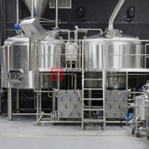20BBL commercial industrial automated beer brewing equipment for sale
