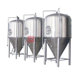 10HL Stainless Steel Beer Fermentation Tank with 100mm Polyurethane Insulation for Sale