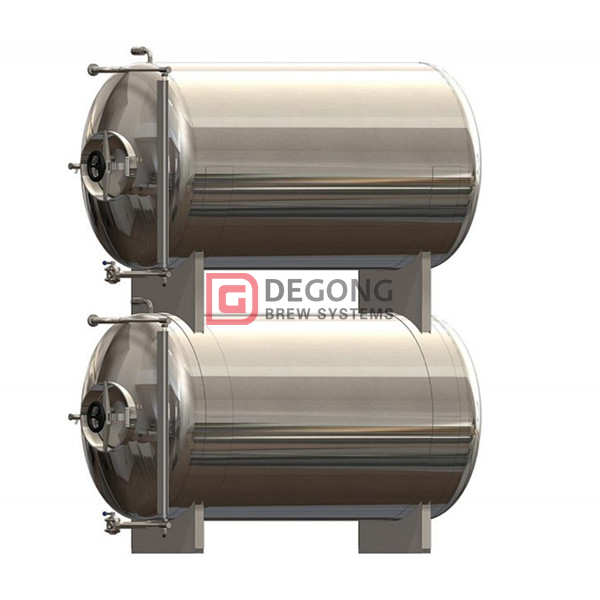 500L stackable high quality horizontal beer maturation tank for sale