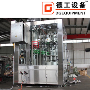 Customizable Isobaric Filling Beer Making Machine Glass Bottle Beer Bottle Production Line Brewery for Sale