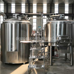 500L 2 Vessel / 3 Vessel / 4 Vessel Stainless Steel Beer Brewhouse Equipment Customized for Sale