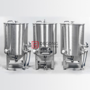 200L 2 Vessel Or 3 Vessel Brewhouse System Stainless Steel Beer Brewing Equipment Customizable Maufacturer