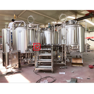 10HL brewery equipment sanitary (electric gas and steam heating) stainless steel customizable beer machine