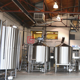500L turnkey customized steam heated beer brewing equipment for sale