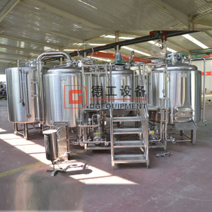 CE / ISO Certificated 1000L SUS304 Professional Beer Brewing Equipment Steam Heating Beer Brewhouse with PLC Control