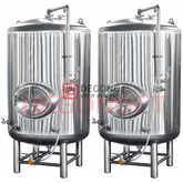 1000L Stainless Steel Jacket Beer Brite Tank Brewpub Beer Serving Tank for Sale