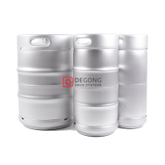 Engraved high quality 50L EURO steel beer kegs for sale