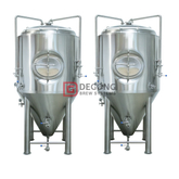 Brewery Plant 1000l Stainless Steel Brewing Equipment fermentation tanks for The Production of Craft Beer