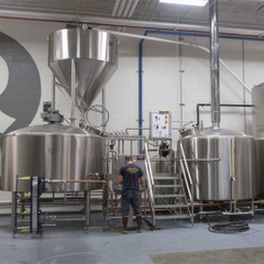 1000L Automated Commercial Steel Beer Brewhouse / Brewery Equipmen for Sale