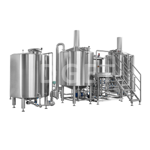 15BBL TUV ISO CE Certificated Industrial Used Conical Stainless Steel Beer Brewery System