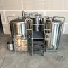 600L Combined 2 Or 3-Vessel Beer Brewhouse Stout Beer Making Plant for Sale