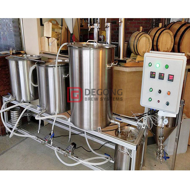 100L microbrewery equipment brewpub Mini stainless steel beer brewing equipment for sale in Italy