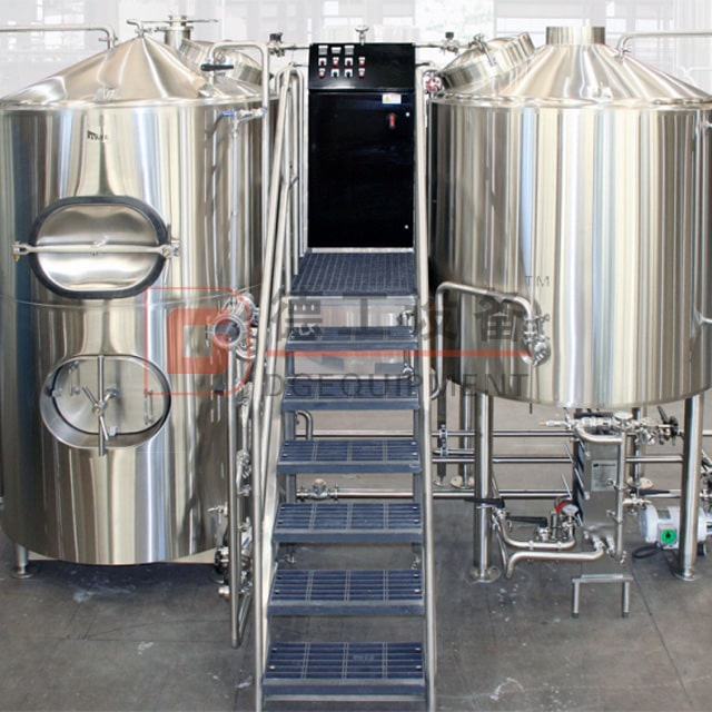 5BBL Beer Brewery Equipment for Craft Beer Brewhouse Free Combination Mash System 2/3/4-vessel Sus304/316 Or Red Copper for Sale