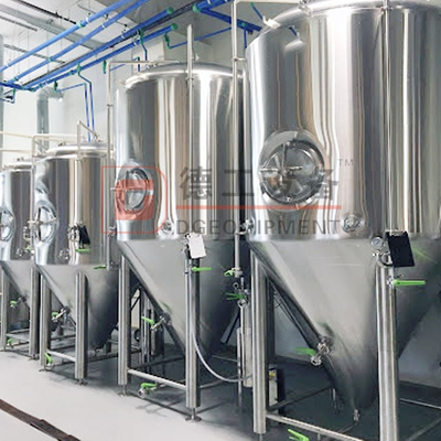 1000L Beer Drinks Storage Isobaric Stainless Steel 304/316 Beer Fermentation Tank with Inner Mirror Polishing