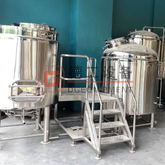 CE ISO TUV 5BBL Beer Brewery Equipment CIP Station Freely Combination Brewhouse System Conical Fermenters for Sale