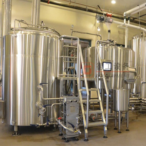 1000L (10HL) beer brewing system turnkey beer manufacturing equipment for business
