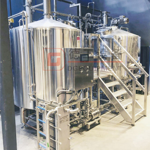 Semi-automatic 2000L Craft Beer Brewing Equipment Freely Customized Serving Tank for Sale