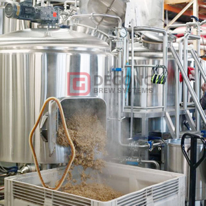 DGET 500L Beer Brewery Equipment Nano Brewery SUS304/316 200L 300L 400L 1000L for Sale