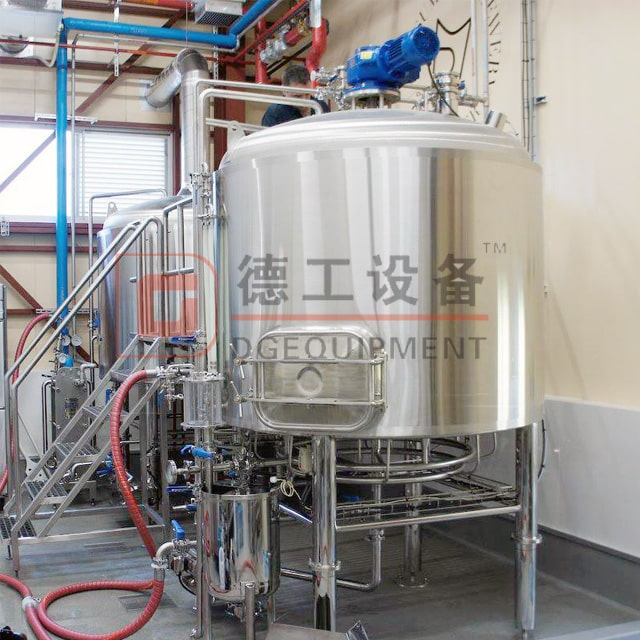 500L 1000L 1500L Commercial Brewing System for Beer Brewhouse 2/3/4 Vessels Mash System Free Combination Near Me