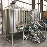 5bbl Pilot brewing equipment to start your beer business brewery equipment manufactured by DEGONG