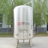 2000L Vertical Double Wall Stainless Steel Jacketed Beer Aging Tank Brite Tank for Commercial Brewery