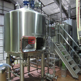 Stainless steel customized 2000L Brewery equipment craft beer installation in Sweden for Sale