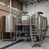 10 BBL Per Brew Wheat Beer Making Plant Commercial Used Stainless Steel Brewery Equipment for Sale
