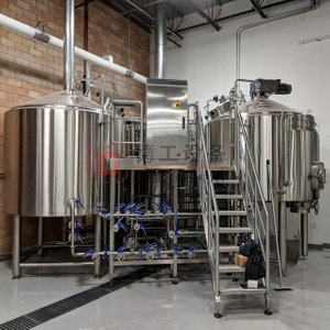 10BBL Commercial Used 2 Or 3 Vessels Brewery Brewhouse Beer Making Equipment For Yellow Beer