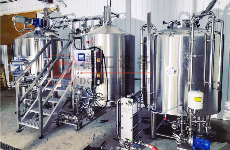 1000L beer brewing system, beer brewhouse construction