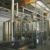 15BBL Large Restaurant Using Beer Brewing Equipment 3 Vessel Steam Heated Automatic Beer Brewhouse