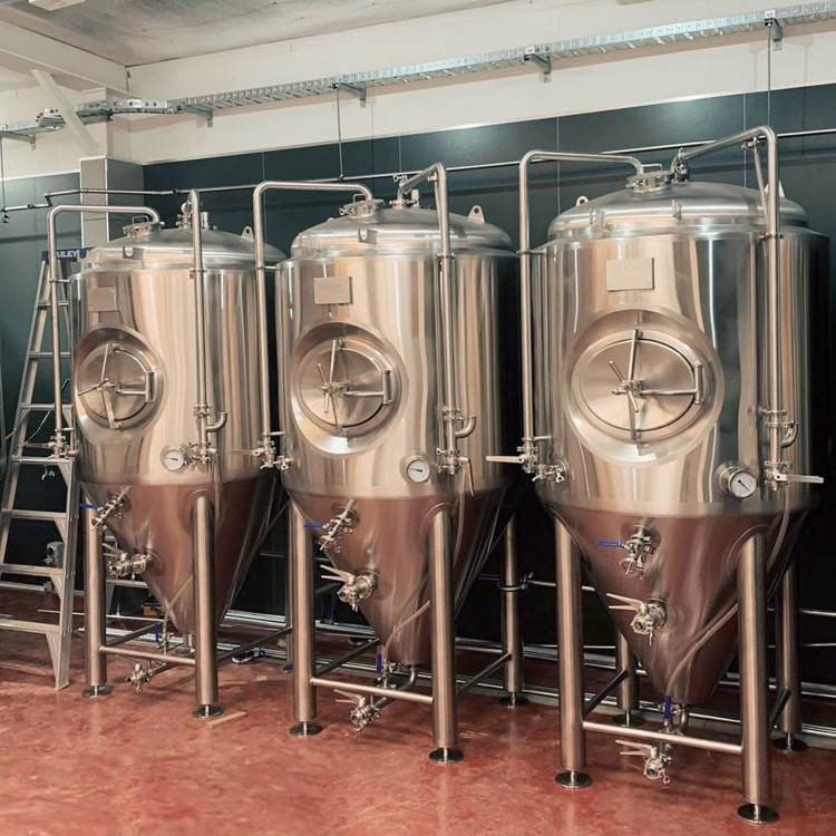 500L Self Brewing Equipment Craft Microbrewery Combined 2/3/4 Vessels Beer Brewhouse Installed in Brewpub/hotel