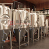 1000L Customizable Side/top Manhole Cooling Jacket Insulated Conical Beer Fermenter Brewery Tank Available for Sale