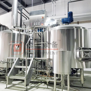 2000L Industrial Used Automatic PLC/PID Control Complete Brewery Equipment with CE ISO PED Certification