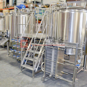 500L-1000L Restaurant Brewpub Used High Quality Custom Craft Micro Brewery Equipment with PLC Control