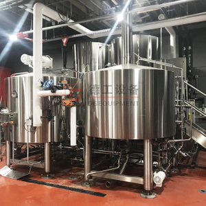 15BBL Available Turnkey Automated Beer Brewing System Commercial SUS 304 Brewing Equipment for Sale