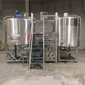 10BBL Steam Heating Three Vessels Beer Brewhosue Commercial Used Complete Brewery Equipment