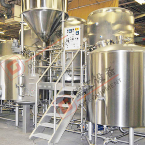 600L 1200L High Quality Craft Stainless Steel Beer Brewing Equipment 2-vessel with Steam Heating Beer Making Machine for Sale
